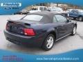 2001 True Blue Metallic Ford Mustang V6 Convertible  photo #6