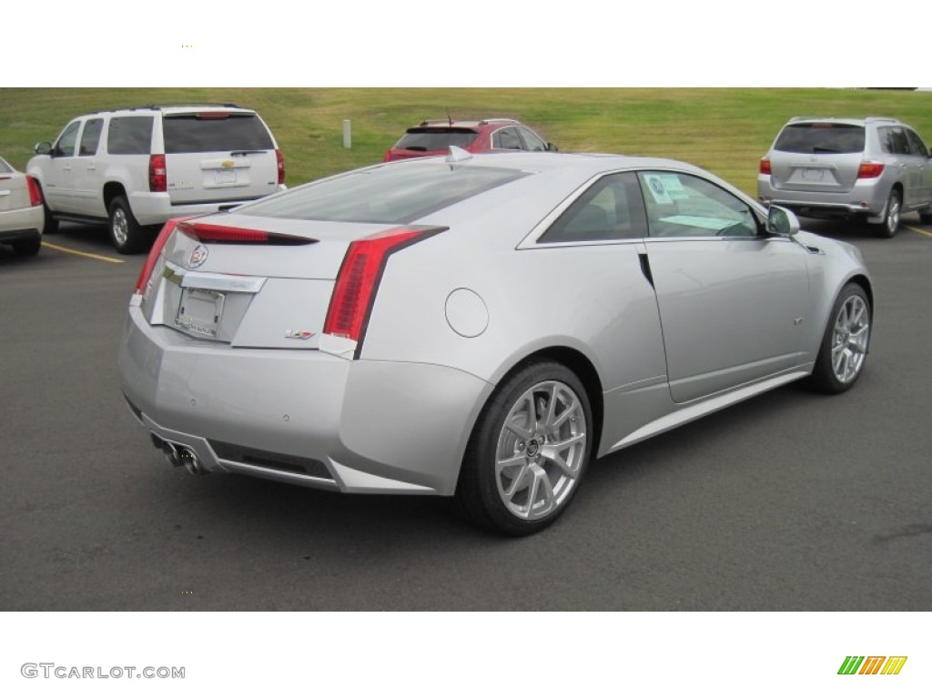 radiant silver metallic 2012 cadillac cts v coupe exterior photo 56373178. Black Bedroom Furniture Sets. Home Design Ideas