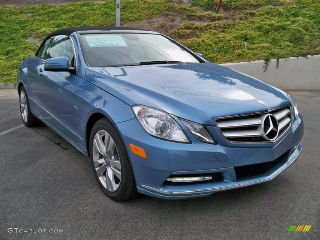 Quartz blue metallic 2012 mercedes benz e 350 cabriolet for 2012 mercedes benz e350 convertible