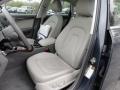 Light Grey 2009 Audi A4 Interiors