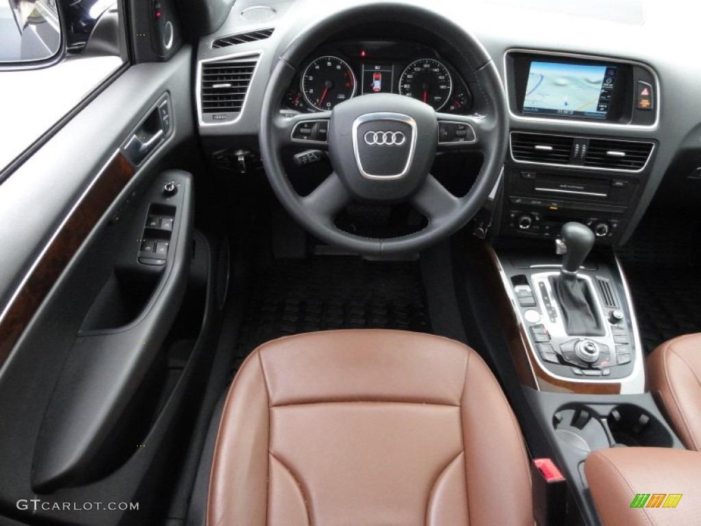 2010 Audi Q5 3.2 quattro Cinnamon Brown Dashboard Photo ...