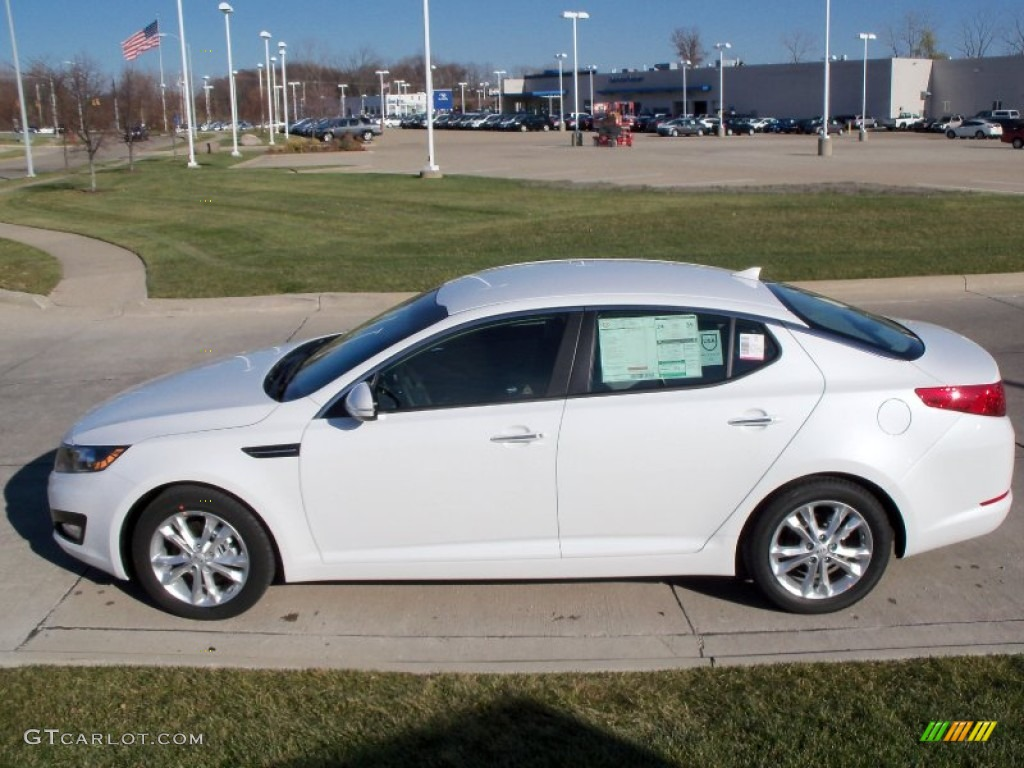 Snow White Pearl 2012 Kia Optima Ex Exterior Photo 56386843 Gtcarlot Com