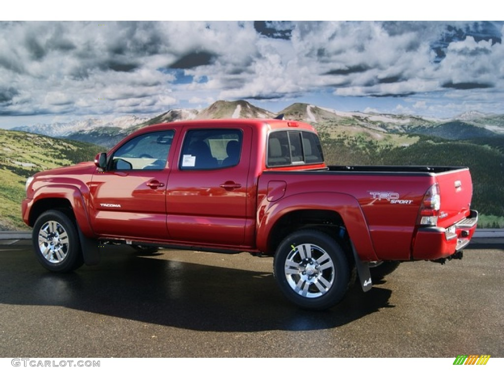 barcelona red metallic 2012 toyota tacoma v6 trd sport double cab 4x4 exterior photo 56387224. Black Bedroom Furniture Sets. Home Design Ideas