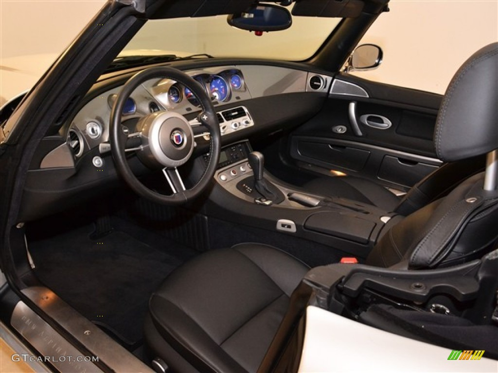 Black Interior 2003 Bmw Z8 Alpina Roadster Photo 56393424 Gtcarlot Com