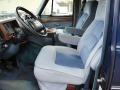 Blue 1995 Chevrolet Chevy Van Interiors