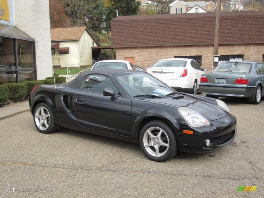 Black 2003 toyota mr2 spyder roadster exterior photo 56396977 gtcarlot com