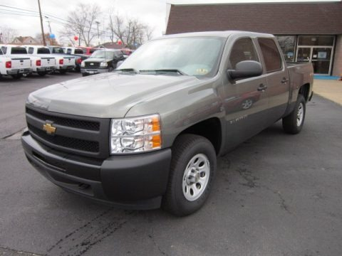 2011 chevrolet silverado 1500 crew cab 4x4 data info and specs. Black Bedroom Furniture Sets. Home Design Ideas