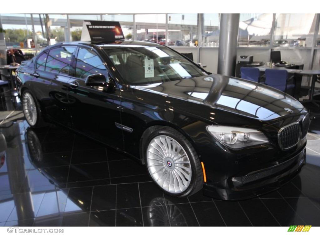 2012 black sapphire metallic bmw 7 series alpina b7 lwb #56398196