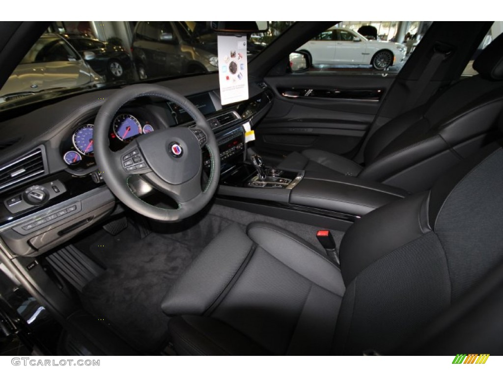 black interior 2012 bmw 7 series alpina b7 lwb photo #56405164