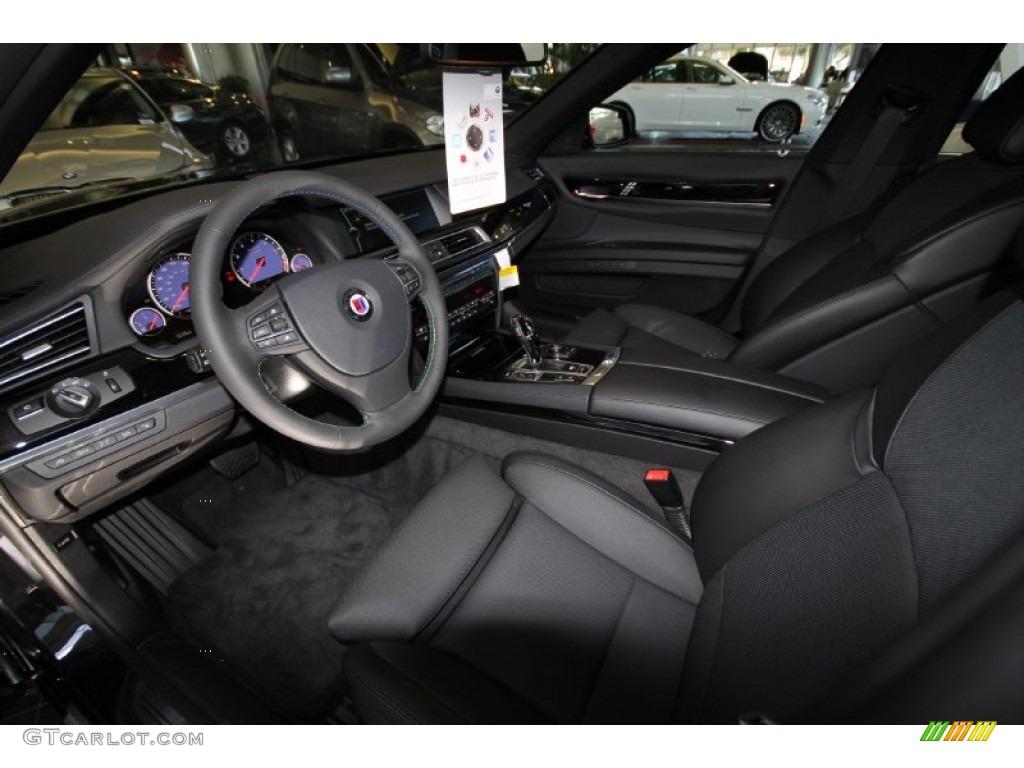 black interior 2012 bmw 7 series alpina b7 lwb photo #56405164