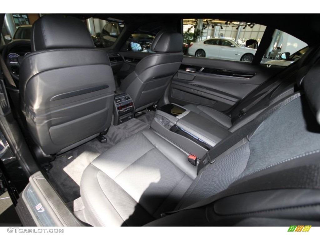 black interior 2012 bmw 7 series alpina b7 lwb photo #56405311