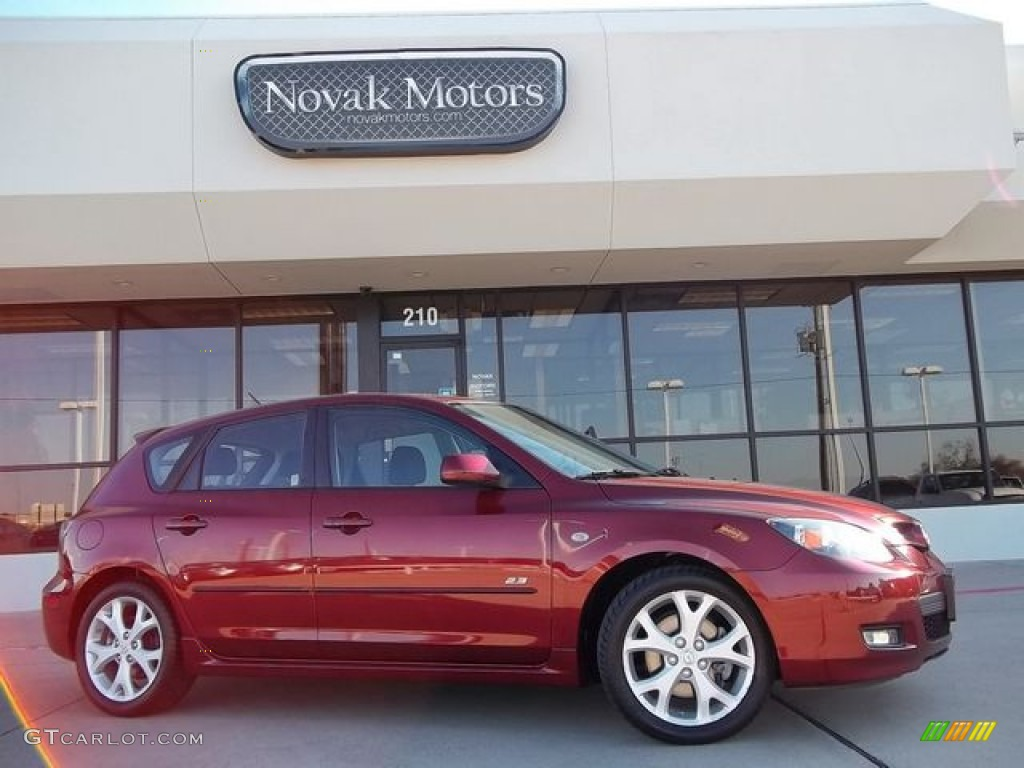 2009 copper red mica mazda mazda3 s sport hatchback. Black Bedroom Furniture Sets. Home Design Ideas