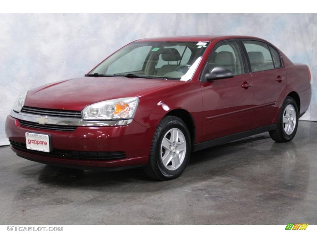 2005 sport red metallic chevrolet malibu ls v6 sedan 56398151. Cars Review. Best American Auto & Cars Review