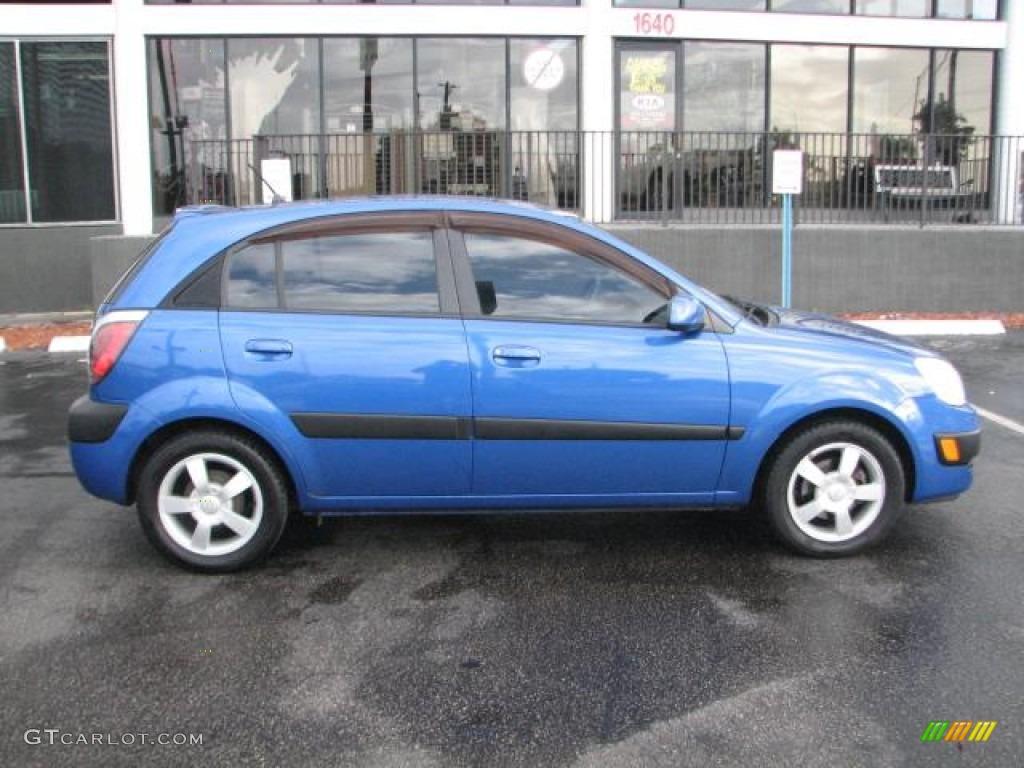 Sapphire blue 2006 kia rio rio5 sx hatchback exterior photo 56419270 for Kia rio 5 exterior