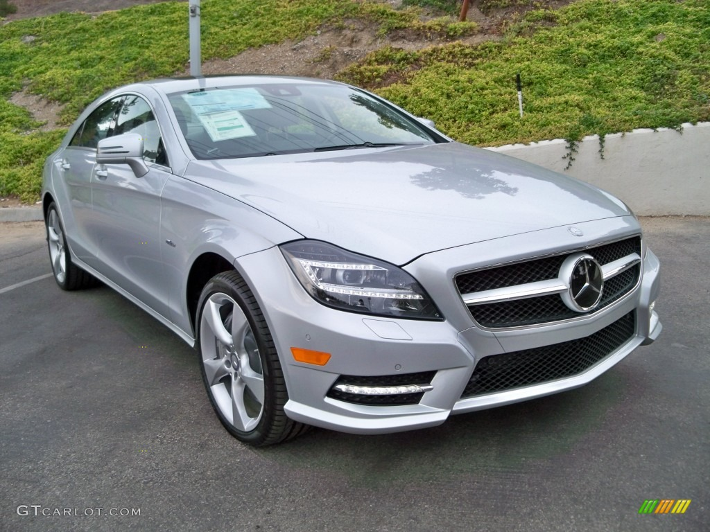 2012 iridium silver metallic mercedes benz cls 550 coupe for 2012 mercedes benz cls