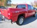 2012 Victory Red Chevrolet Silverado 1500 LS Crew Cab 4x4  photo #7