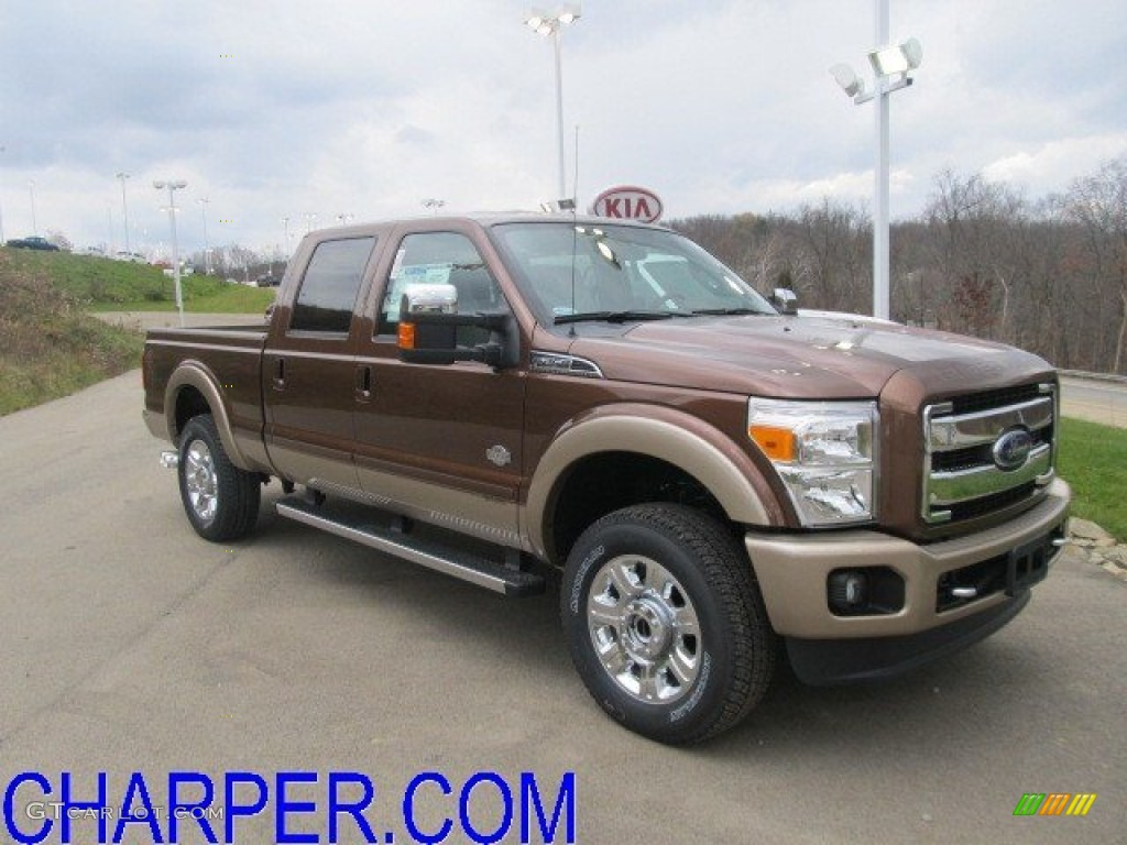 2012 golden bronze metallic ford f250 super duty king ranch crew cab 4x4 56397781 gtcarlot. Black Bedroom Furniture Sets. Home Design Ideas