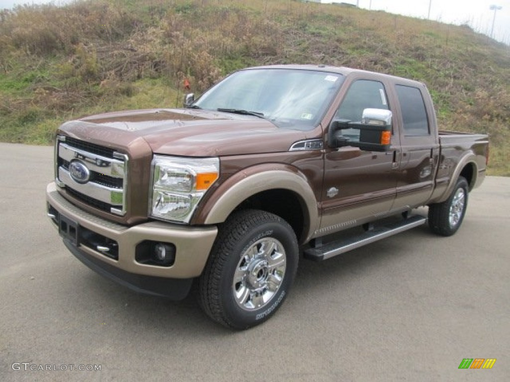 2012 golden bronze metallic ford f250 super duty king ranch crew cab 4x4 56397781 photo 8. Black Bedroom Furniture Sets. Home Design Ideas