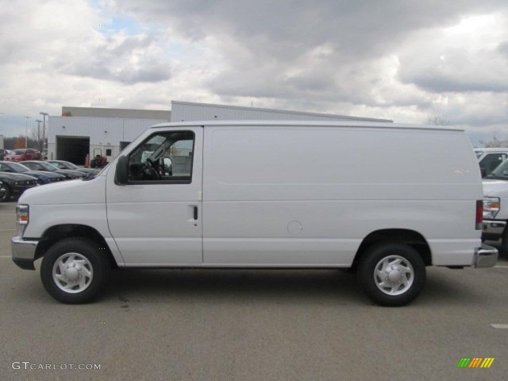 oxford white 2012 ford e series van e150 cargo exterior photo 56427103. Black Bedroom Furniture Sets. Home Design Ideas