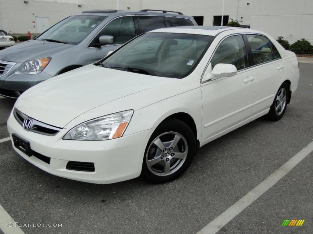 2006 Accord Hybrid Sedan Premium White Pearl Ivory Photo 1