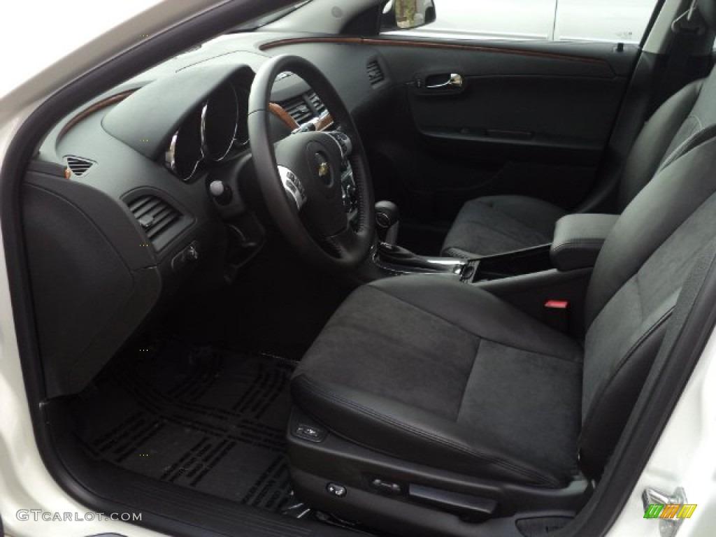 Ebony Interior 2012 Chevrolet Malibu Lt Photo 56440639