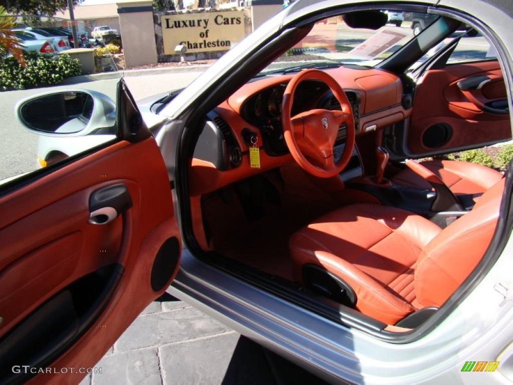 Boxster Red Interior 2003 Porsche Boxster Standard Boxster