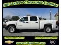 2012 Summit White Chevrolet Silverado 1500 Work Truck Crew Cab 4x4  photo #1
