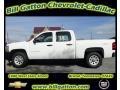 2012 Summit White Chevrolet Silverado 1500 Work Truck Crew Cab 4x4  photo #1