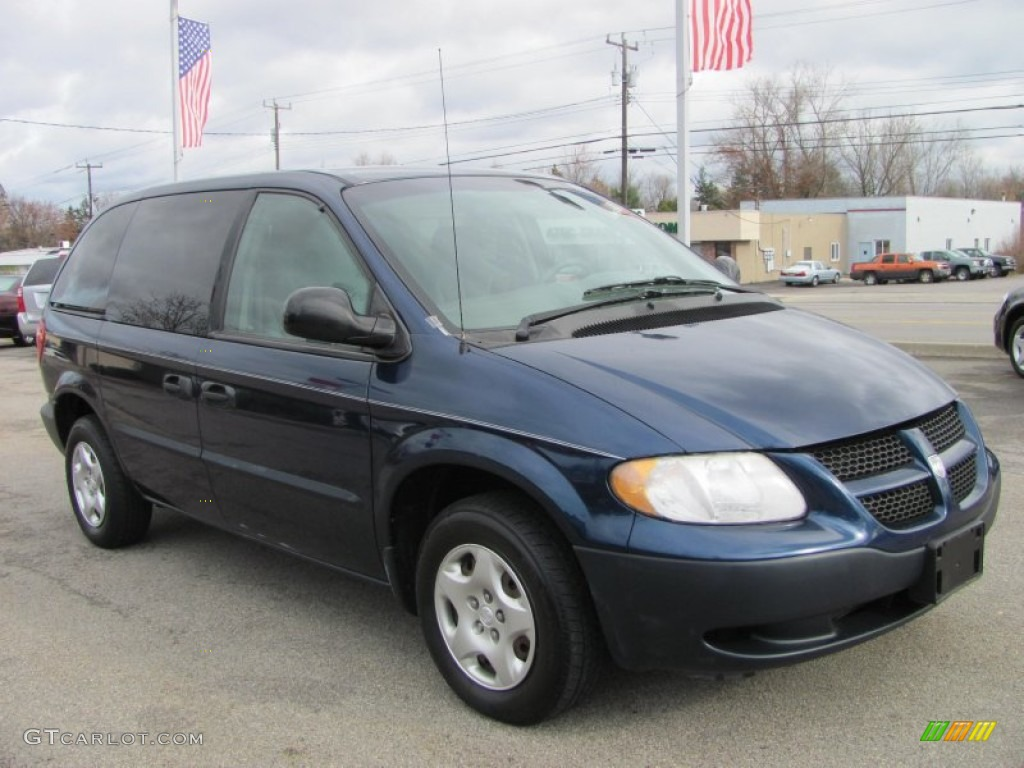 patriot blue pearl 2002 dodge caravan se exterior photo. Black Bedroom Furniture Sets. Home Design Ideas
