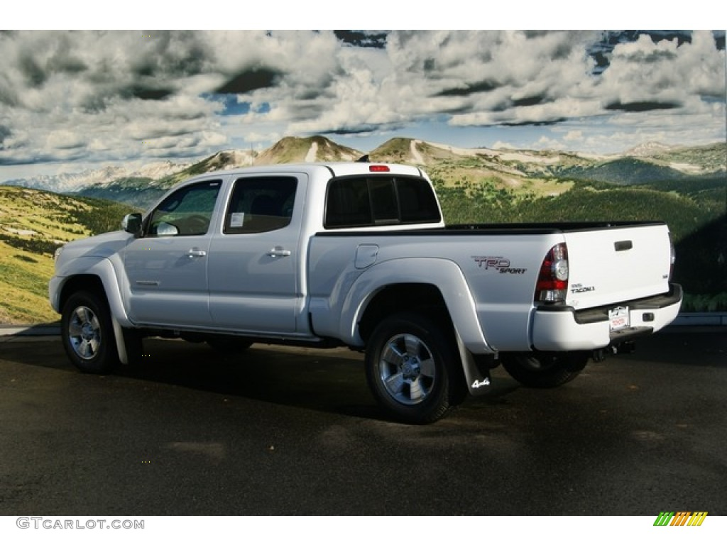 2012 super white toyota tacoma v6 trd sport double cab 4x4 56451443 photo 3. Black Bedroom Furniture Sets. Home Design Ideas