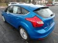 2012 Blue Candy Metallic Ford Focus SEL 5-Door  photo #4