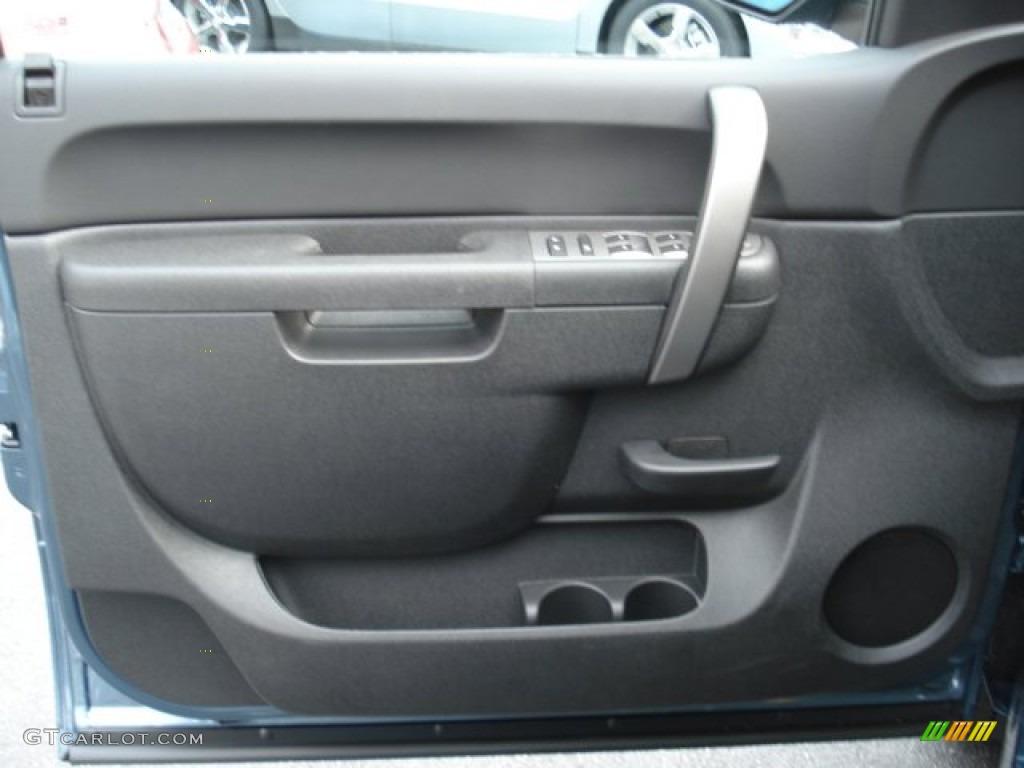 2012 Silverado 1500 LS Extended Cab 4x4 - Blue Granite Metallic / Dark Titanium photo #12