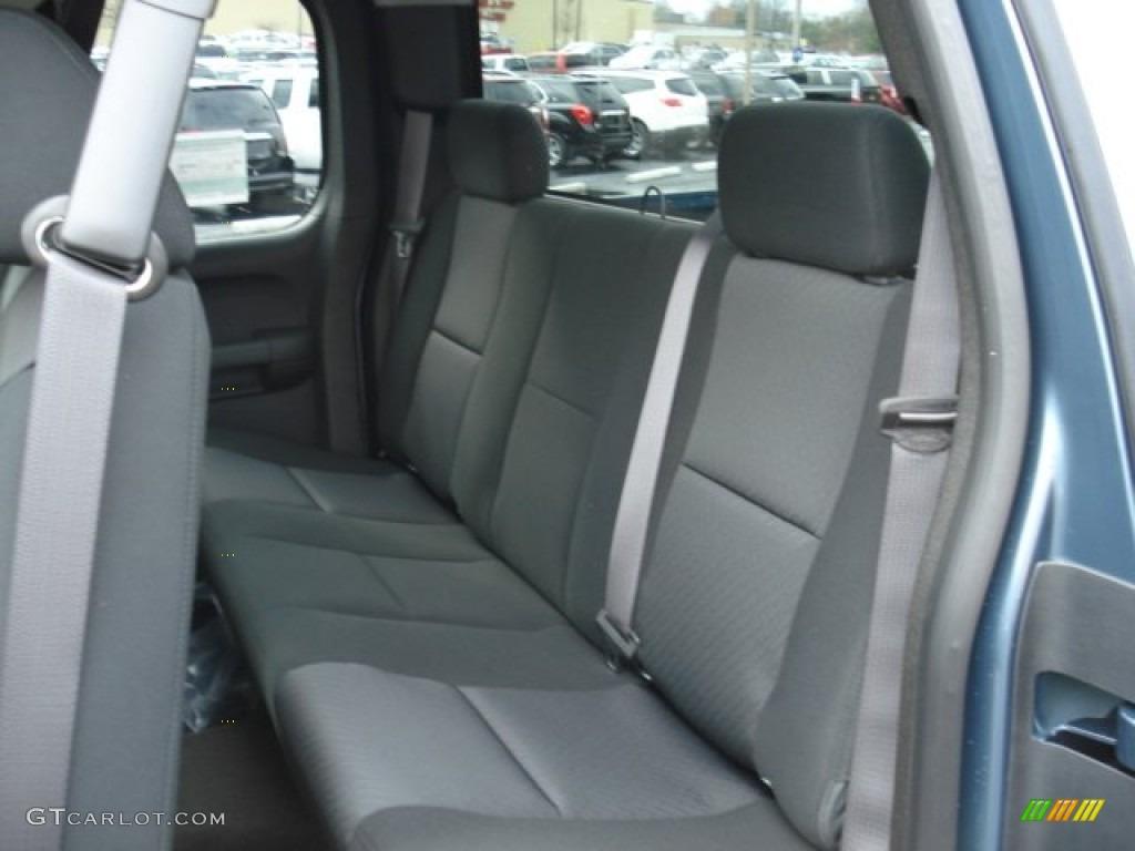 2012 Silverado 1500 LS Extended Cab 4x4 - Blue Granite Metallic / Dark Titanium photo #13