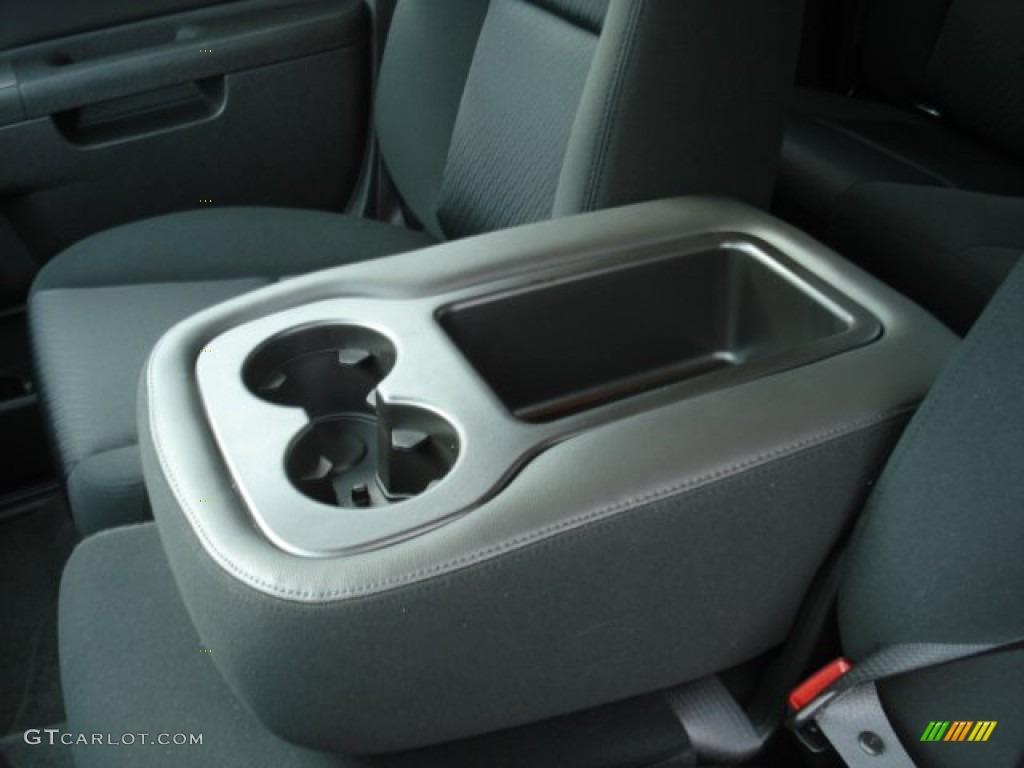 2012 Silverado 1500 LS Extended Cab 4x4 - Blue Granite Metallic / Dark Titanium photo #15