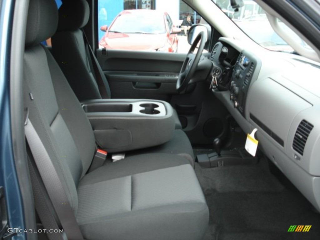 2012 Silverado 1500 LS Extended Cab 4x4 - Blue Granite Metallic / Dark Titanium photo #16