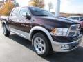 2012 Deep Molten Red Pearl Dodge Ram 1500 Laramie Crew Cab  photo #4