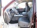 2012 Deep Molten Red Pearl Dodge Ram 1500 Laramie Crew Cab  photo #7