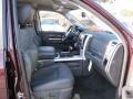 2012 Deep Molten Red Pearl Dodge Ram 1500 Laramie Crew Cab  photo #9