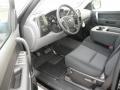 2012 Sierra 1500 SL Extended Cab Dark Titanium Interior