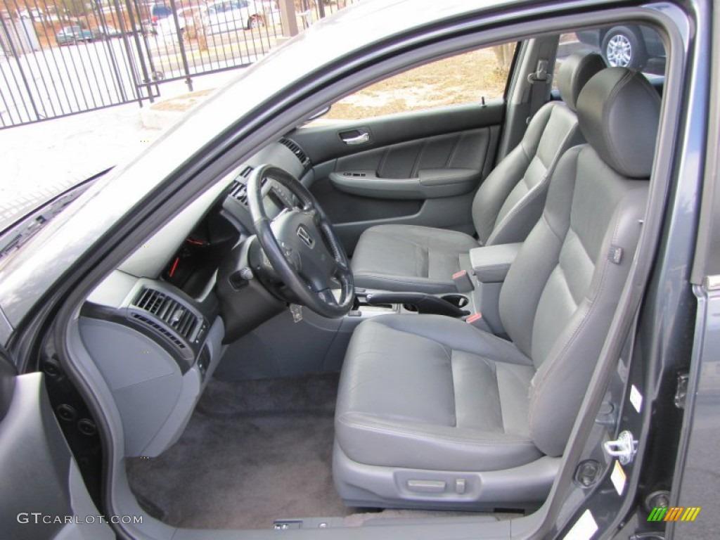 gray interior 2003 honda accord ex l sedan photo 56492391. Black Bedroom Furniture Sets. Home Design Ideas