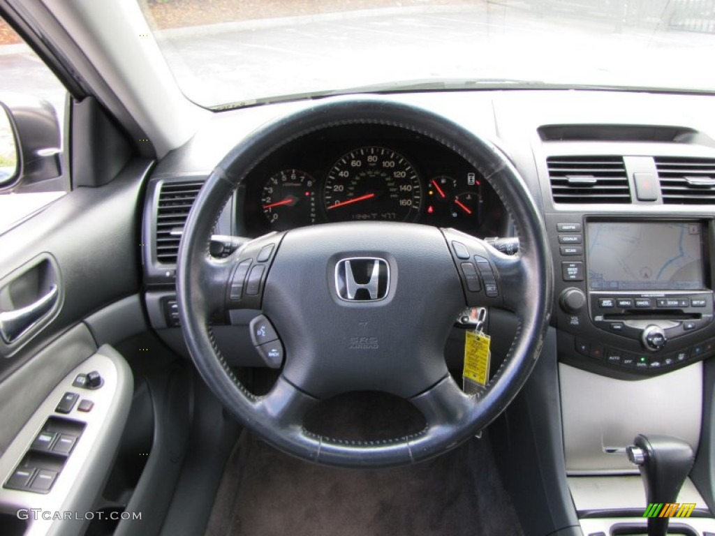 2003 honda accord ex l sedan gray steering wheel photo 56492436