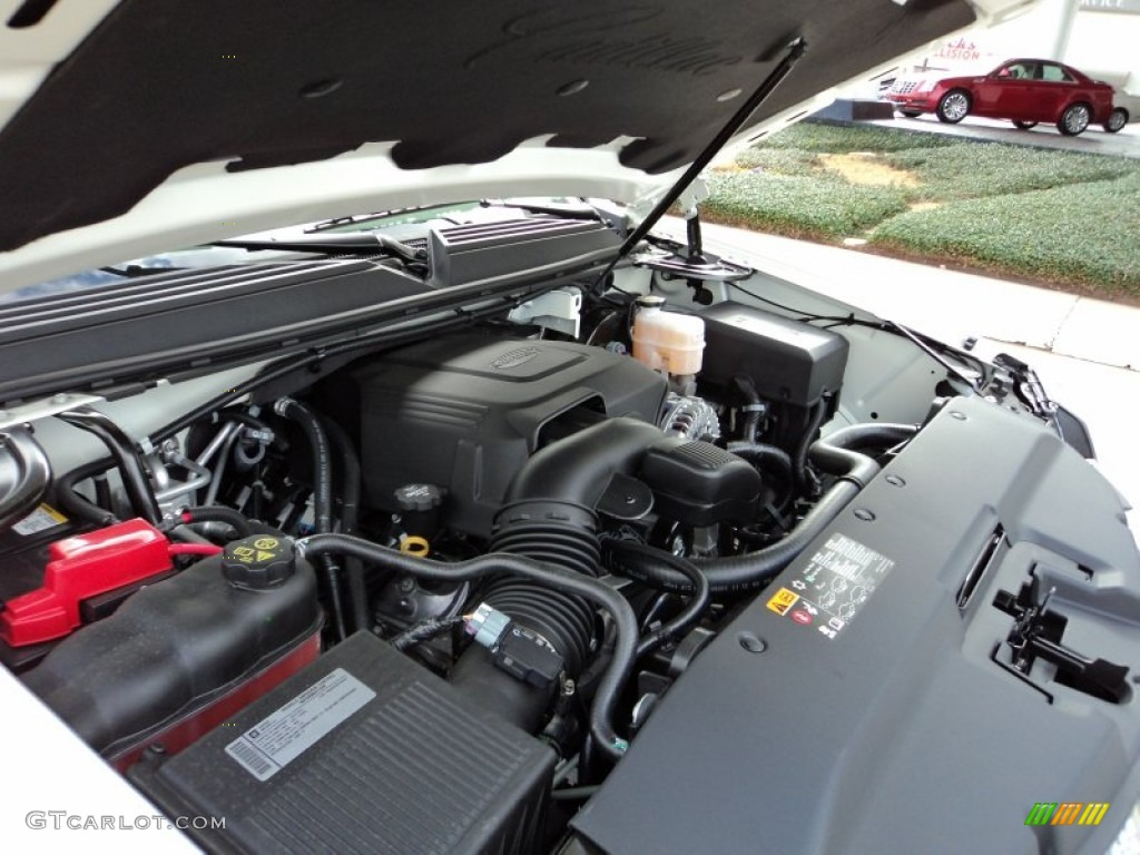 2012 Cadillac Escalade Platinum Engine Photos | GTCarLot.com