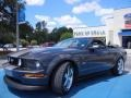 2007 Alloy Metallic Ford Mustang GT Premium Convertible  photo #13