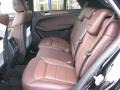 2012 ML 350 4Matic Auburn Brown/Black Interior