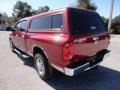 2007 Inferno Red Crystal Pearl Dodge Ram 3500 Laramie Quad Cab  photo #3