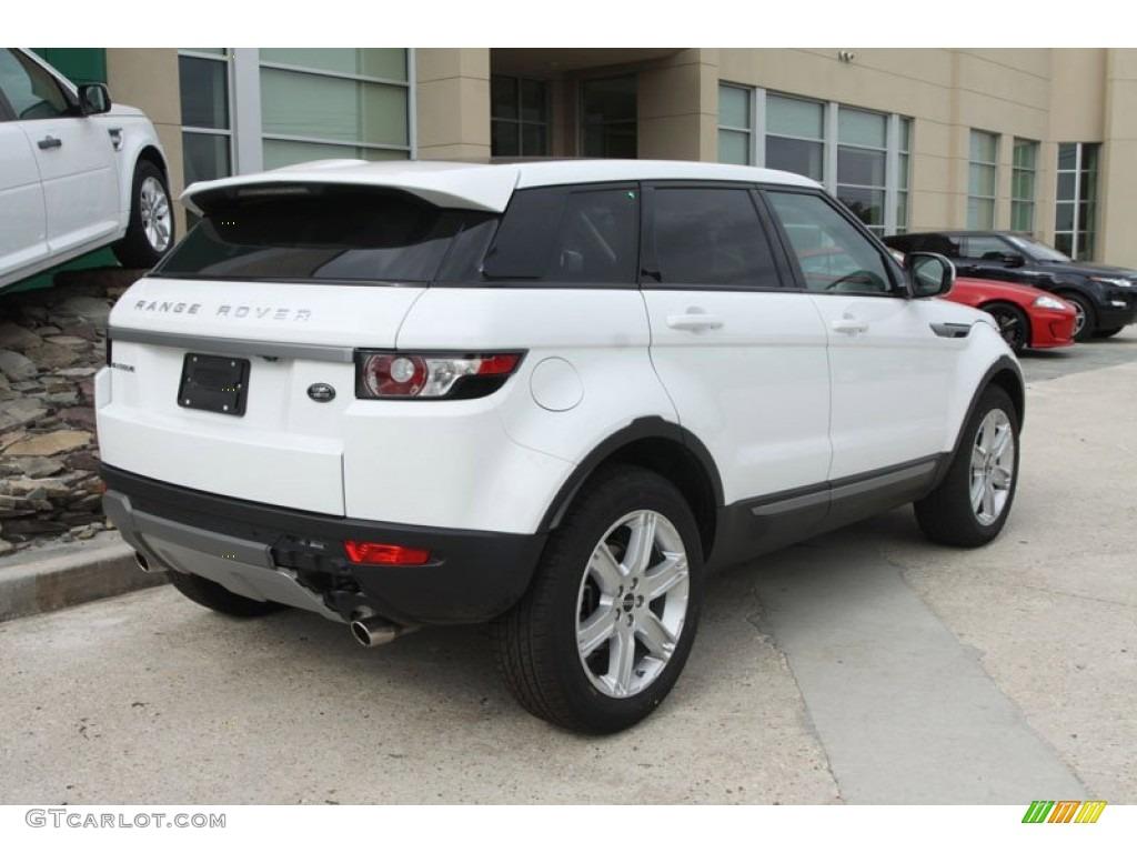 Fuji White 2012 Land Rover Range Rover Evoque Pure Exterior Photo 56515216