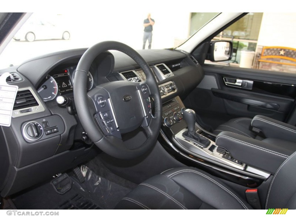 Ebony Interior 2012 Land Rover Range Rover Sport Hse Lux Photo 56515471