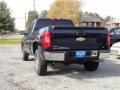 2012 Imperial Blue Metallic Chevrolet Silverado 1500 LS Extended Cab 4x4  photo #3