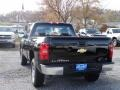 2012 Black Chevrolet Silverado 1500 Work Truck Regular Cab 4x4  photo #3