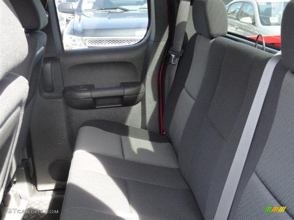 2012 Silverado 1500 LS Extended Cab 4x4 - Victory Red / Dark Titanium photo #4